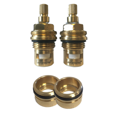 Picture of Leisure Replacement Valves Cartridge and Bushes Set Leisure Aquaclassic 2 Tap
